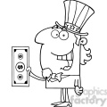 102514-cartoon-clipart-uncle-sam-with-holding-a-dollar-bill  gif, png, jpg, eps, svg, pdf