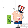 102516-cartoon-clipart-uncle-sam-with-holding-a-dollar-bill-and-speech-bubble  gif, png, jpg, eps, svg, pdf