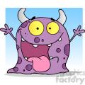 2486-Happy-Monster-Cartoon-Character