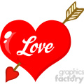 102584-cartoon-clipart-perforated-heart-with-arrow-and-text  gif, png, jpg, eps, svg, pdf