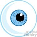 4657-Royalty-Free-RF-Copyright-Safe-Blue-Eye-Ball