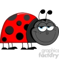 Royalty-Free-RF-Copyright-Safe-Happy-Ladybug-Cartoon-Character