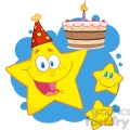 royalty-free-rf-copyright-safe-happy-star-holding-a-birthday-cake-with-little-two-stars  gif, png, jpg, eps, svg, pdf