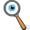 Royalty-Free-RF-Copyright-Safe-Magnifying-Glass-With-Eye-Ball