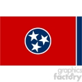 vector state Flag of Tennessee