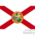 vector state Flag of Florida
