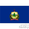 vector state flag of vermont gif, png, jpg, eps, svg, pdf