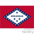 vector state flag of arkansas