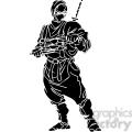 ninja clipart 002