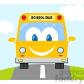 5057-clipart-illustration-of-school-bus-cartoon-mascot-character  gif, png, jpg, eps, svg, pdf