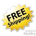 free shipping star burst icon