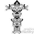 cross clip art tattoo illustrations 033