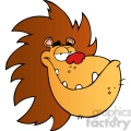 5067-lion-head-cartoon-character-royalty-free-rf-clipart-image  gif, png, jpg, eps, svg, pdf