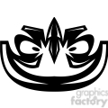 tribal masks vinyl ready art 020  gif, png, jpg, eps, svg, pdf