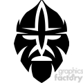 tribal masks vinyl ready art 049
