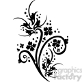 chinese swirl floral design 085  gif, png, jpg, eps, svg, pdf
