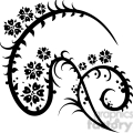 chinese swirl floral design 032  gif, png, jpg, eps, svg, pdf