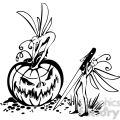 Halloween clipart illustrations 032
