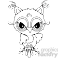 owl front view  gif, png, jpg, svg, pdf