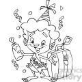 black white 2014 baby new year with suitcase  gif, png, jpg, eps, svg, pdf