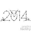2014 barbed wire western clipart