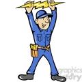 electrician thunderbolt toolman