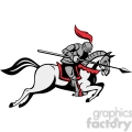 knight with jousting lance riding horse  gif, png, jpg, eps, svg, pdf
