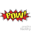 pow onomatopoeia clip art vector images  gif, png, jpg, eps, svg, pdf