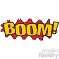 boom onomatopoeia clip art vector images vector clip art image