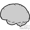 brain illustration outline vector clip art image
