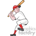 baseball batter batting leg up  gif, png, jpg, eps, svg, pdf