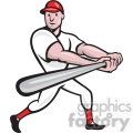 baseball player batting side low  gif, png, jpg, eps, svg, pdf
