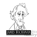 james buchanan black white  gif, png, jpg, eps, svg, pdf