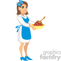 mother making dinner  gif, png, jpg, eps, svg, pdf