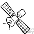 cartoon satellite illustration graphic