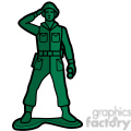 toy soldier illustration graphic