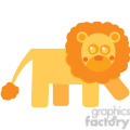 curly_hair_lion vector image rf clip art  gif, png, jpg, eps, svg, pdf