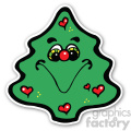 christmas tree sticker v3  gif, png, jpg, eps, svg, pdf