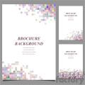 vector letter brochure template set 026  gif, png, jpg, svg, pdf