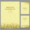 vector letter brochure template set 046  gif, png, jpg, svg, pdf