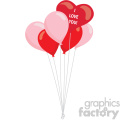 heart balloons svg cut files vector valentines die cuts clip art
