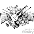 vintage distressed vintage music GF vector design vintage 1900 vector art GF