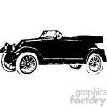 old vintage distressed four passenger roadster car retro vector design vintage 1900 vector art GF