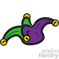 mardi gras jester vector art vector clip art image