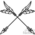 arrows crossed vector design 06