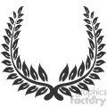 branch wreath design vector art v3