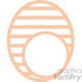 easter egg svg cut file 3