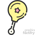 Baby Toy Shaker clip art vector images