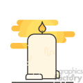 Candle clip art vector images