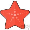 Starfish vector clip art images